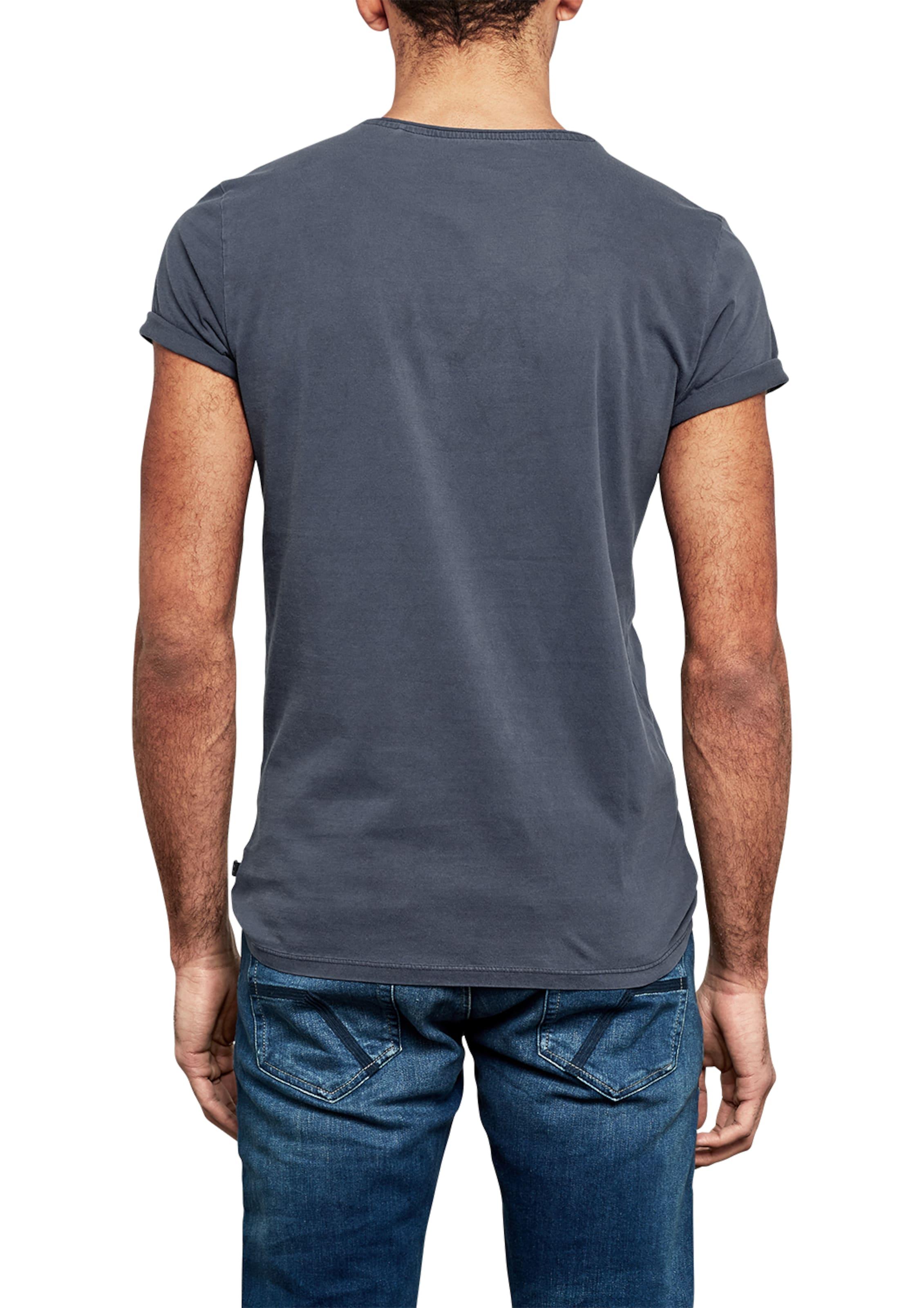 Q/S designed by Crew Neck Basic-Shirt Top-Qualität Günstiger Preis Billig Besuch Neu Fachlich 100% Ig Garantiert Günstig Online Mc5aYJP4