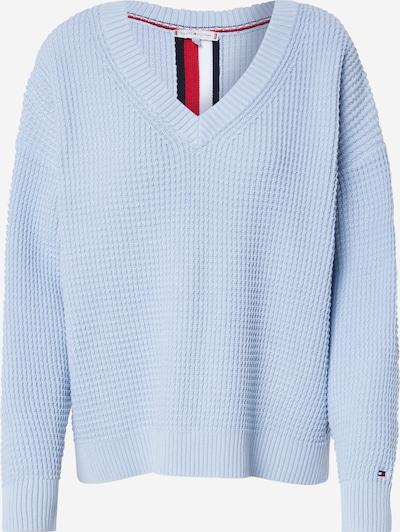 TOMMY HILFIGER Pullover 'HERBY' in hellblau / mischfarben, Produktansicht