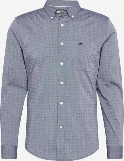 Dockers Skjorta 'Alpha' i marinblå / rökblå, Produktvy