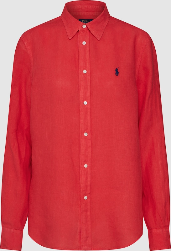 POLO RALPH LAUREN Blause in rot  Mode neue Kleidung