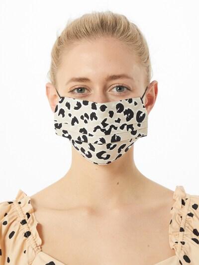 ONLY Stoffmasken '3er Pack ONLCOMMUNITY' in sand / schwarz: Frontalansicht