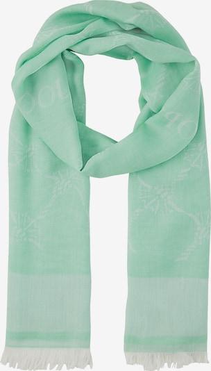 JOOP! Schal 'Abby' in creme / mint, Produktansicht