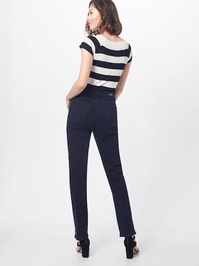 BRAX Jeans 'Carola' in blue denim: Rückansicht