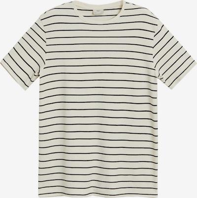 MANGO MAN Shirt in de kleur Beige / Zwart, Productweergave