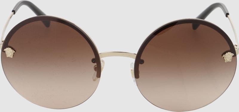 VERSACE Casual Sonnenbrille mit Runden Gläsern
