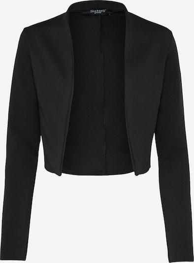SISTERS POINT Business Blazer 'GRIDO' in schwarz, Produktansicht