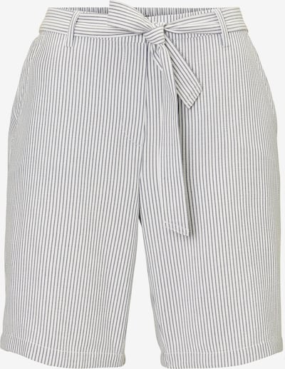 Marc O'Polo Shorts in grau / weiß, Produktansicht