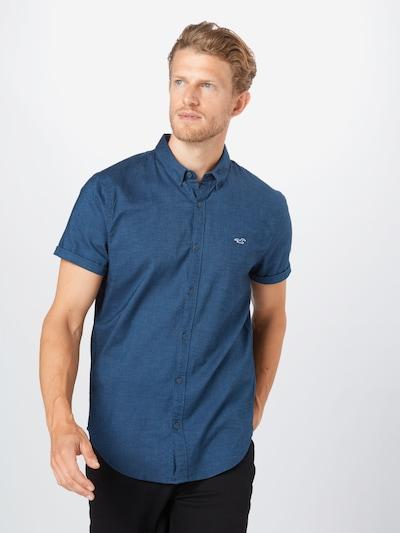 HOLLISTER Hemd in navy: Frontalansicht