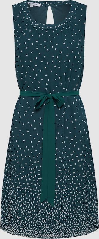 Kleid 'Caroline' in smaragd   weiß  Markenkleidung für Männer und Frauen