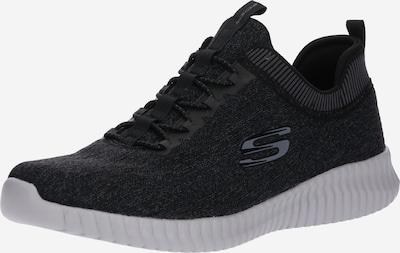SKECHERS Baskets basses en gris basalte / noir, Vue avec produit