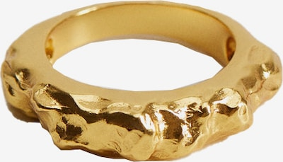 MANGO Ring in gold, Produktansicht