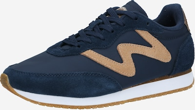 WODEN Sneaker in navy / braun / weiß, Produktansicht
