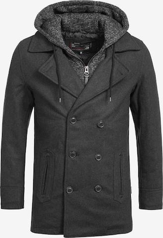Manteau d'hiver ' Cliff Jacke ' INDICODE JEANS en gris