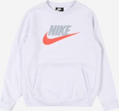 Nike Sportswear Sweatshirt 'B NSW CLUB + HBR CREW' in azur, Produktansicht