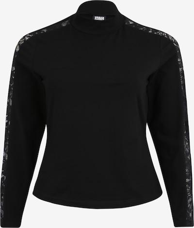 Urban Classics Curvy Majica | črna barva, Prikaz izdelka