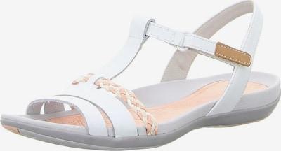 CLARKS Sandalen met riem in de kleur Wit, Productweergave