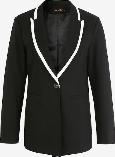 miss goodlife Blazers in de kleur Zwart, Productweergave
