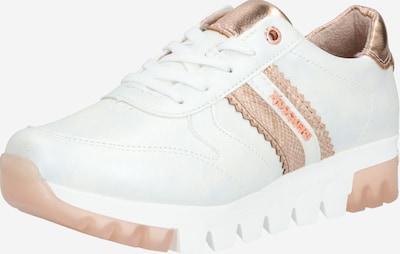 Dockers by Gerli Sneaker in gold / rosé / weiß, Produktansicht
