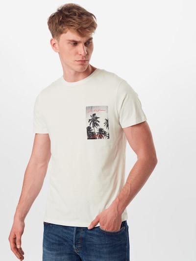 JACK & JONES Koszulka 'JORHOLIDAZ TEE SS CREW NECK' w kolorze offwhitem: Widok z przodu