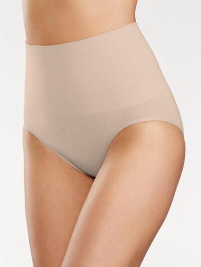 PETITE FLEUR Bodyforming-Slips (2 Stck.) in nude / schwarz: Frontalansicht