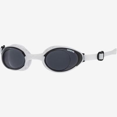 ARENA Schwimmbrille 'AIR-SOFT' in schwarz / weiß: Frontalansicht