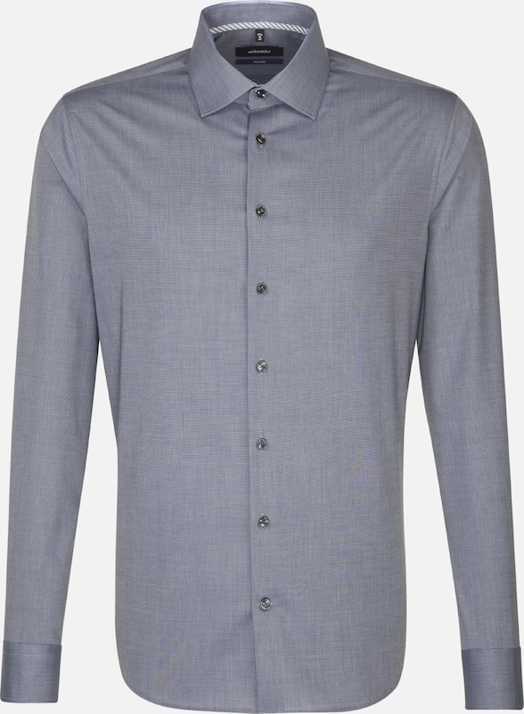 SEIDENSTICKER Hemd 'TailGoldt' in grau grau grau  Neue Kleidung in dieser Saison a8f1a1