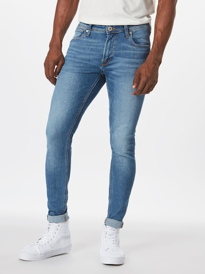 JACK & JONES Jeans 'JJITOM JJORIGINAL AM 815 NOOS' in blue denim, Modelansicht