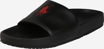 Saboți POLO RALPH LAUREN pe roșu / negru, Vizualizare produs