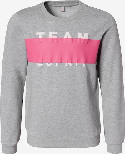 ESPRIT Sweatshirt in grau / pink, Produktansicht