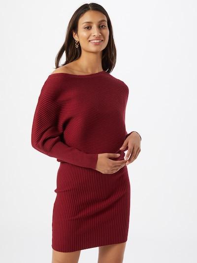 borvörös Parallel Lines Kötött ruhák, Modell nézet