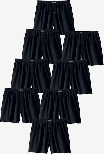 LE JOGGER Boxershorts in schwarz: Frontalansicht