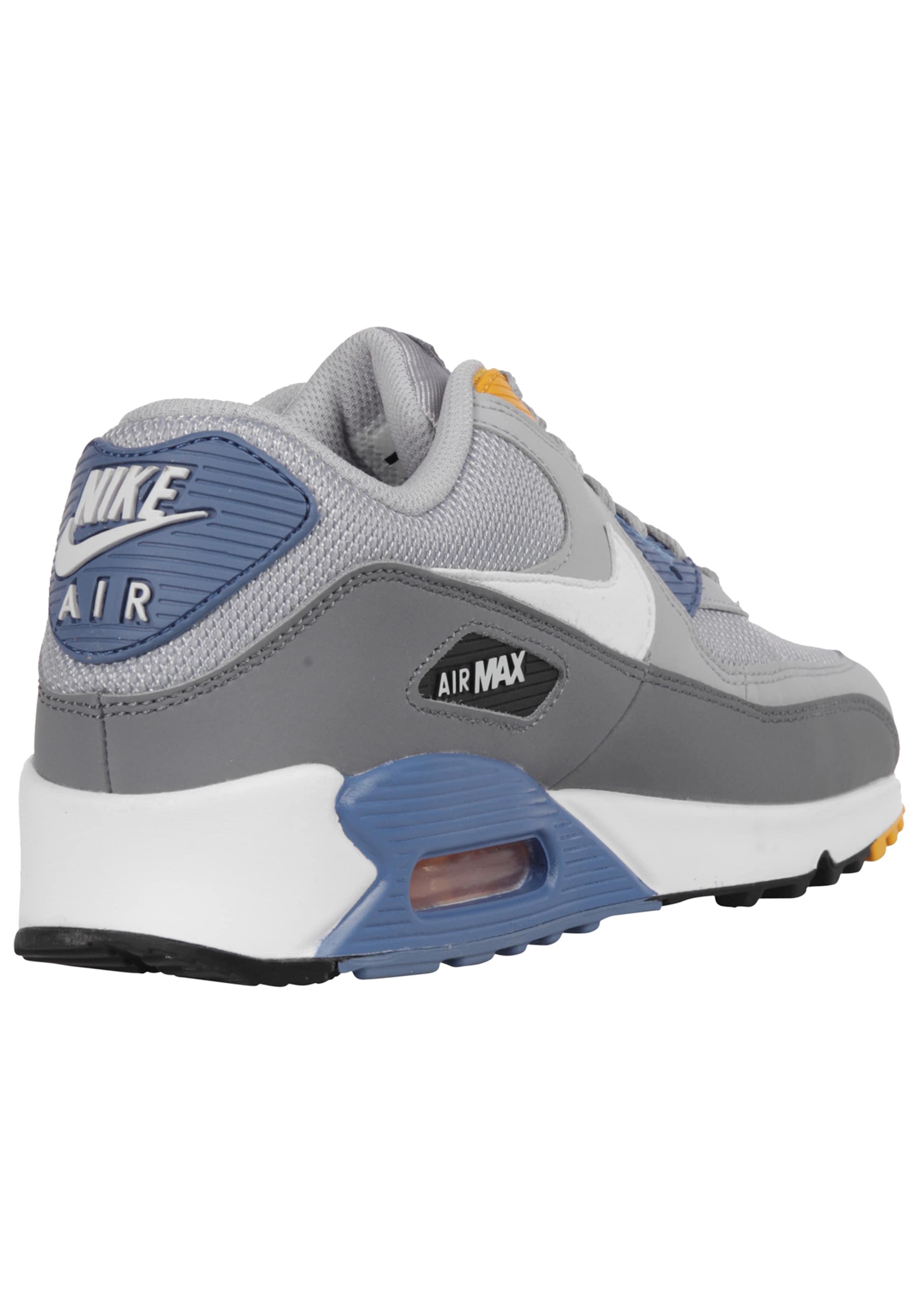Sneakers Essential' 90 Nike Sportswear BlueGeel Laag Grijs In 'air Max Smoky m8wvn0ON