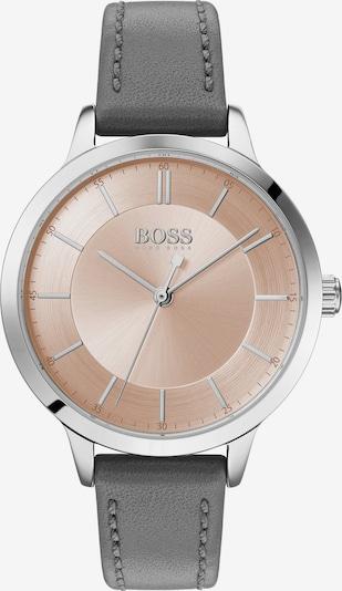 BOSS Uhr in rosegold / grau / silber, Produktansicht