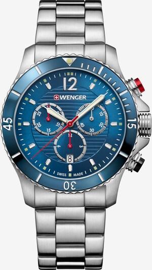 WENGER Analoog horloge 'Seaforce' in de kleur Blauw / Zilver, Productweergave