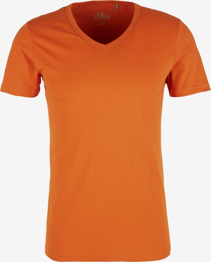 s.Oliver Shirt in orange, Produktansicht