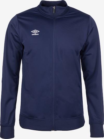 UMBRO Trainingsjacke 'Poly' in dunkelblau, Produktansicht