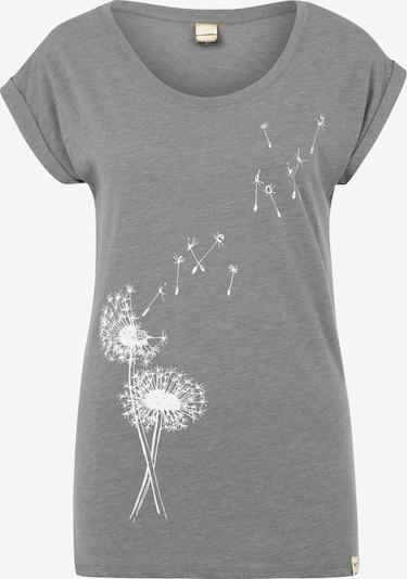 Iriedaily Shirt 'Pusteblume' in graumeliert, Produktansicht