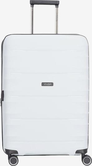 TITAN Trolley 'Highlight' in de kleur Wit, Productweergave