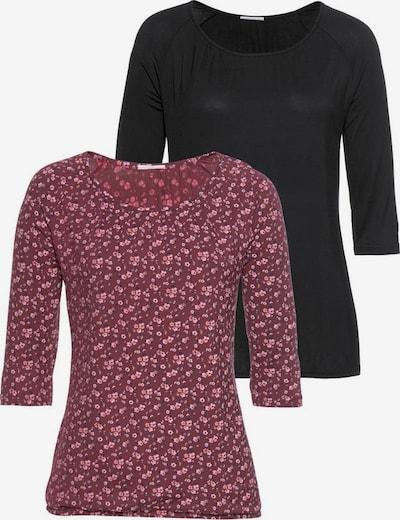 VIVANCE Majica u pastelno crvena / crna, Pregled proizvoda