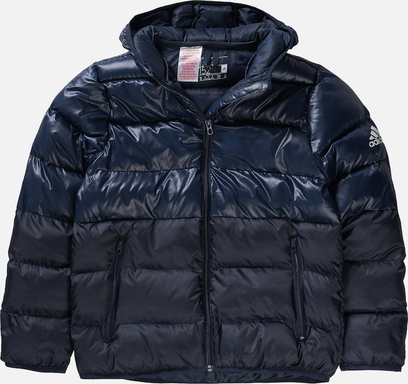 ADIDAS PERFORMANCE Winterjacke 'Youth SD BTS' in navy / dunkelblau, Produktansicht