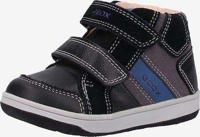 GEOX Sneaker in blau / taupe / schwarz, Produktansicht