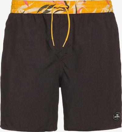 O'NEILL Badeshorts in gelb / schwarz, Produktansicht