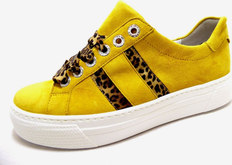 SEMLER Sneakers laag in Geel wh2yCbRN