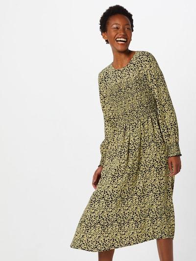 MOSS COPENHAGEN Kleid  'Celina Morocco' in gelb / schwarz, Modelansicht