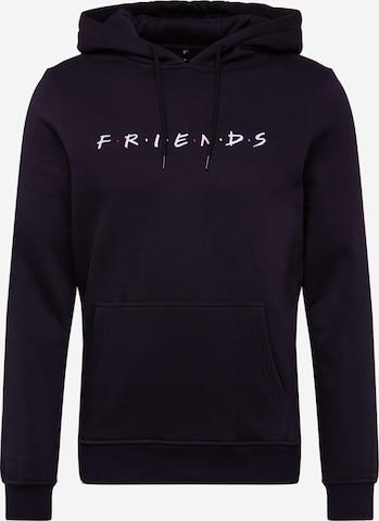 Sweat-shirt 'Friends' Mister Tee en noir