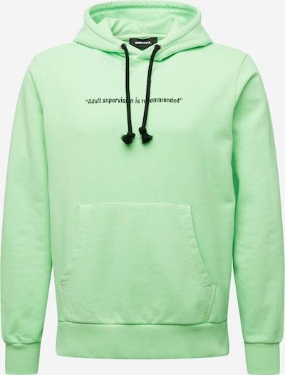 DIESEL Sweatshirt in grün, Produktansicht
