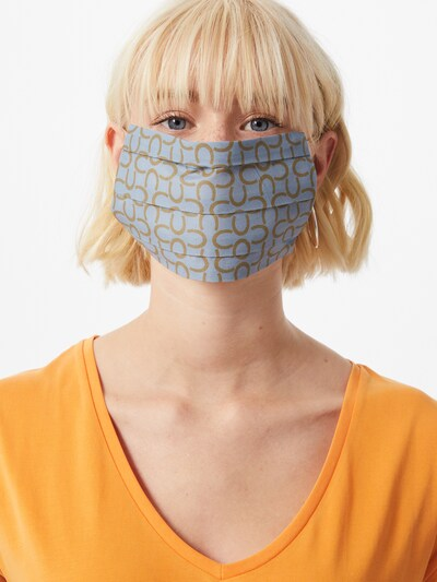 CODELLO Stoffmaske 'COVER UP' in blau / gold: Frontalansicht