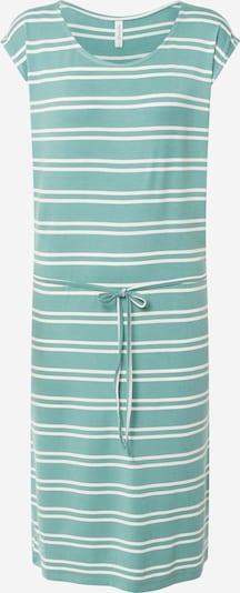 Blend She Kleid 'CELESTE' in grün / weiß, Produktansicht