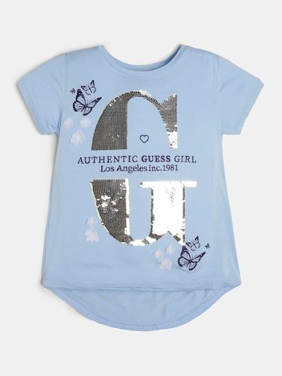 GUESS KIDS Shirt in hellblau, Produktansicht