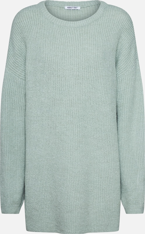 ABOUT YOU Pullover 'Mina' in mint, Produktansicht